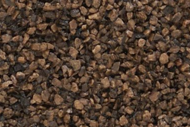 Woodland Scenics B85 Dark Brown Coarse Ballast - Bag