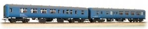 Bachmann 39-002 Twin Pack Mk2a BFK HST barrier vehicles BR blue