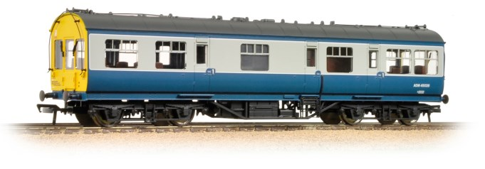 Bachmann 39-777A Ex-LMS 50' Inspection Saloon M45030M BR Blue & Grey