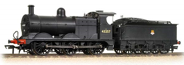 Bachmann 31-626A Class 3F 0-6-0 43257 BR black with early emblem