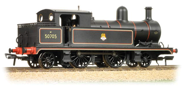 Bachmann 31-169 Class 5 L&YR 2-4-2T 50705 BR lined black with early emblem