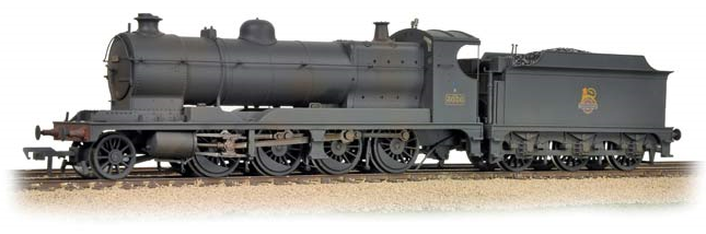Bachmann 31-128 Class 30xx 2-8-0 ROD 3036 BR black with early emblem (weathered)