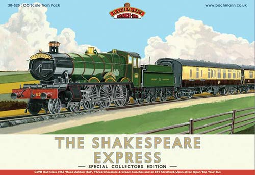 Bachmann 30-525 The Shakespeare Express Train Pack