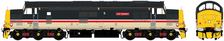 "Accurascale Class 37/4 - 37419 - ""Carl Haviland 1954-2012"" Intercity Mainline Livery - DCC Ready (PRE-ORDER ONLY)"