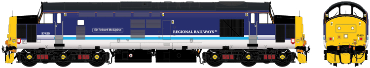 "Accurascale Class 37/4 - 37425 ""Sir Robert McAlpine / Concrete Bob"" DCC Ready (PRE-ORDER ONLY)"