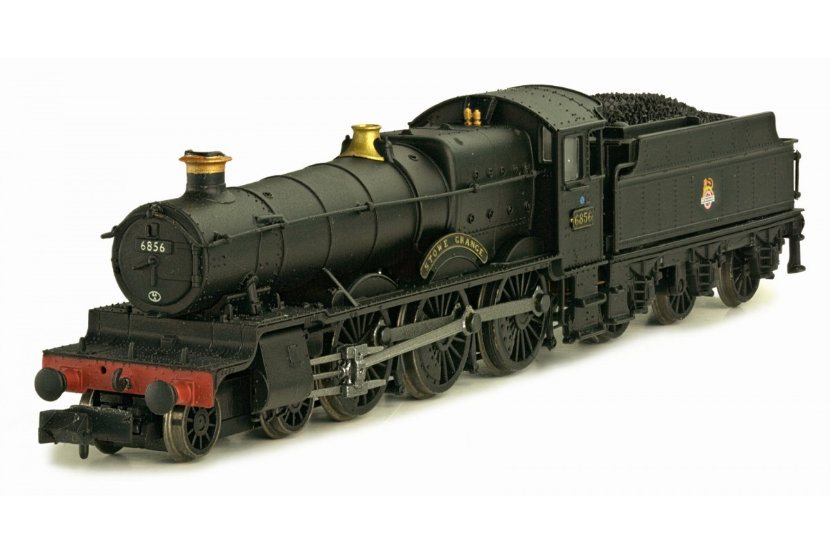 "Dapol 2S-019-004 Class 6800 4-6-0 6856 ""Stowe Grange"" BR plain black with early crest"