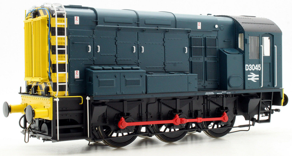 Dapol 7D-008-002 Class 08 0-6-0 diesel shunter D3045 BR blue with wasp stripes