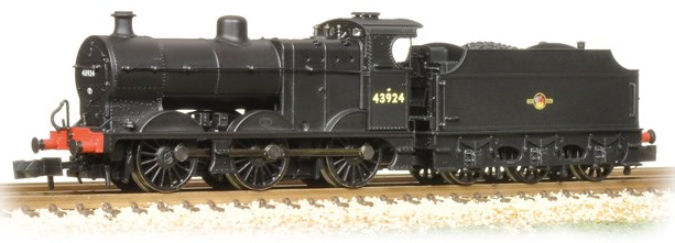 Graham Farish 372-060 Class 4F 0-6-0 43924 Fowler tender BR black with late crest