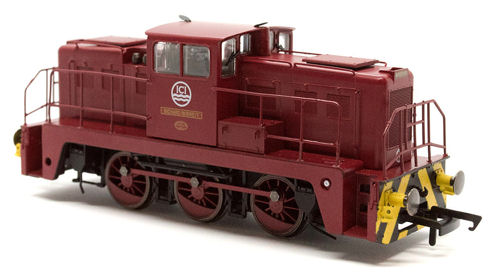 Oxford Rail OR76JAN007 GV2020 Jenus 0-6-0 Diesel loco ICI Richard Berrett
