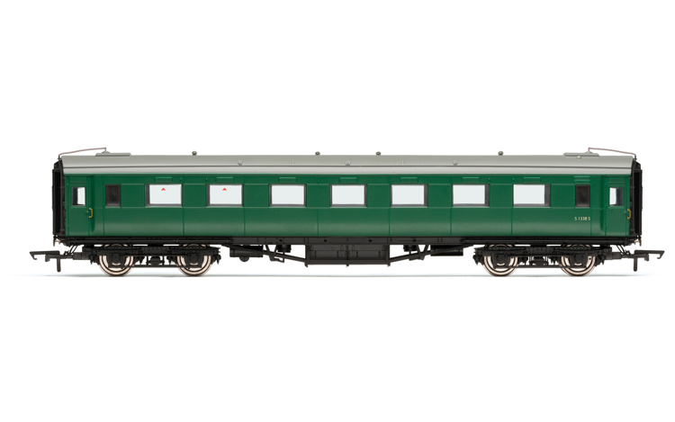 Hornby R40101 BR, Maunsell Open Third, S1338S - Era 5