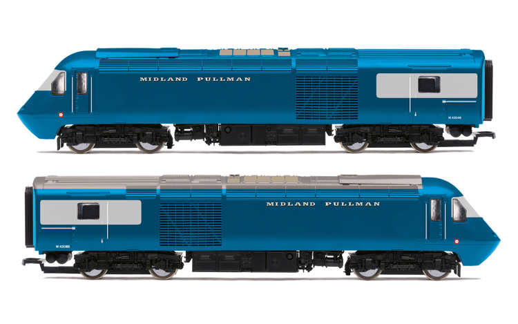 Hornby R30077 Midland Pullman, Class 43 HST, M43046 & M43055, Train Pack - Era 11