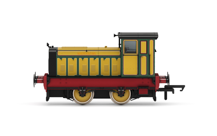 Hornby R3894 North British Distillery Co. Ltd, Ruston & Hornsby 88DS, 0-4-0, No. 4 - Era 6