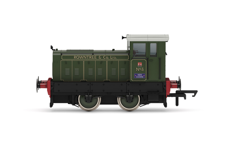 Hornby R3895 Rowntree & Co., Ruston & Hornsby 88DS, 0-4-0, No. 3 - Era 11