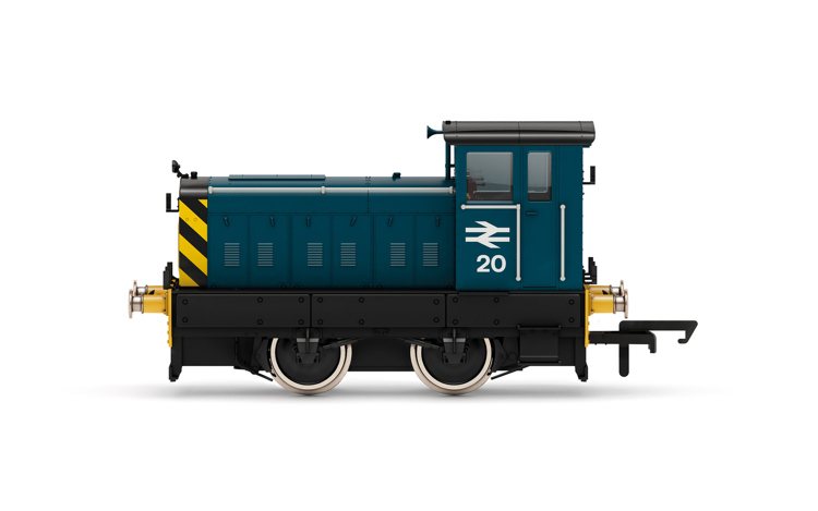 Hornby R3897 BR, Ruston & Hornsby 88DS, 0-4-0, No. 20 - Era 7