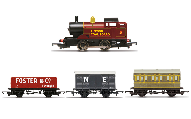 Hornby R30035 Steam Engine Train Pack