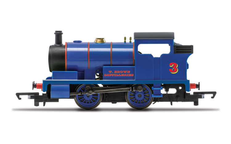 Hornby R30038 PO, T. Brown Distilleries, 0-4-0T, No. 3 - Era 3
