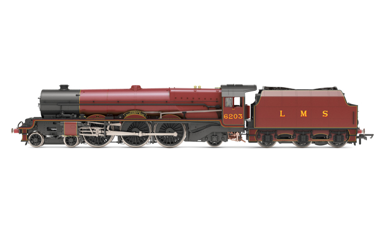 Hornby R30001 LMS, Princess Royal, 4-6-2, 6203 'Princess Margaret Rose' (with flickering firebox) - Era 3