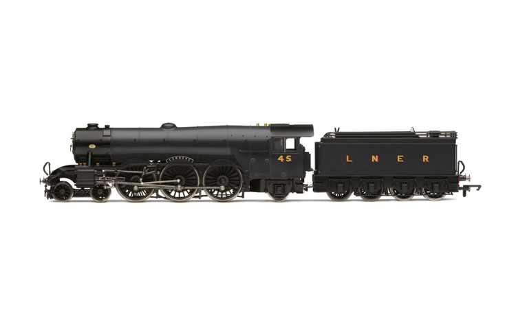 Hornby R30087 LNER, A3 Class, No. 45 'Lemberg' (diecast footplate and flickeirng firebox) - Era 3
