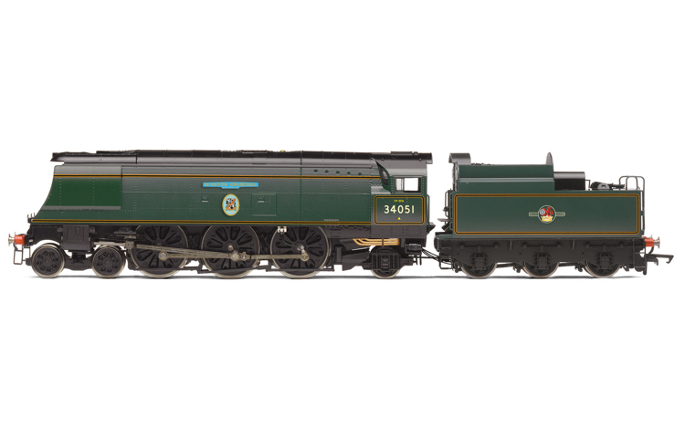 Hornby R3866 BR, Battle of Britain Class, 4-6-2, 34051 'Winston Churchill' - Era 11