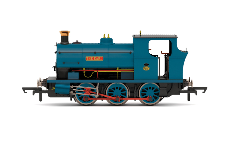 Hornby R3870 NCB, Peckett B2 Class, 0-6-0ST, 1203/1910 'The Earl' - Era 6