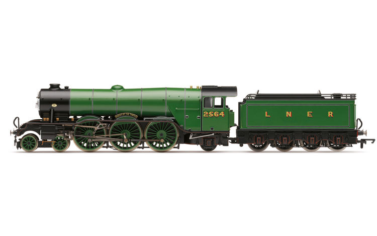 Hornby R3989 LNER, A1 Class, 2564 'Knight of Thistle' (diecast footplate and flickeirng firebox) - Era 3
