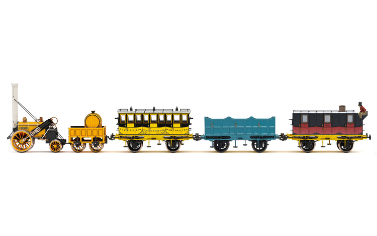 Hornby R3956 L&MR, Stephenson's Rocket Royal Mail Train Pack - Era 1
