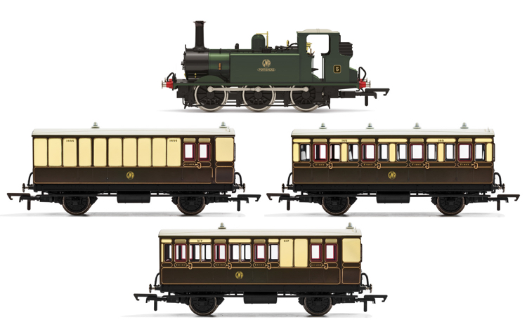 Hornby R3960 GWR, Terrier Train Pack - Era 3