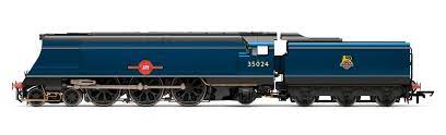 Hornby R3632 4-6-2 Merchant Navy Class 'East Asiatic Company' '35024' BR Express Blue