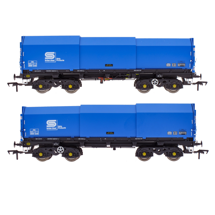 Accurascale PTA/JUA Bogie Tippler Pack - British Steel Blue (Inner) (PRE-ORDER ONLY)
