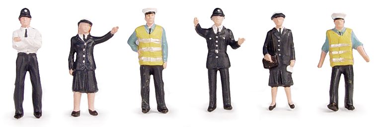 Bachmann 36-041 Police & Security Staff