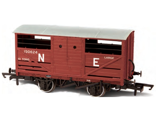 Oxford Rail OR76CAT002 Cattle Van LNER