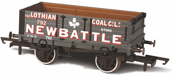 Oxford Rail OR76MW4005 4 Plank Lothian Coal Co No 792