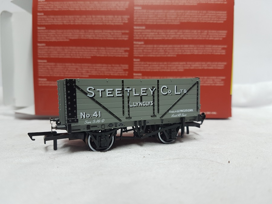 Oxford Rail OR76MW7024 7 Plank 'Steetley & Co. Llynclys'