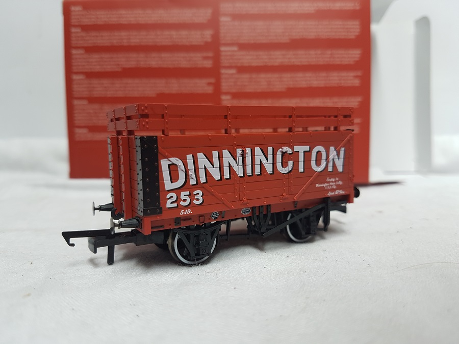 Oxford Rail OR76CK7001 7 Plank Coke Wagon 'Dinnington 253'