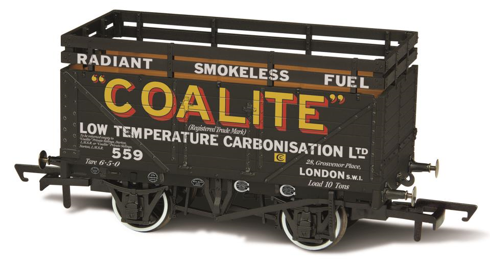 Oxford Rail OR76CK7002 7 Plank Coke Wagon 'Coalite 559'