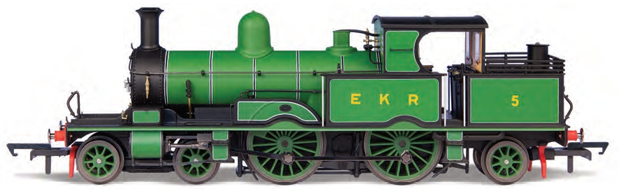 Oxford Rail OR76AR005 Adams Radial No.5 East Kent Railway Green