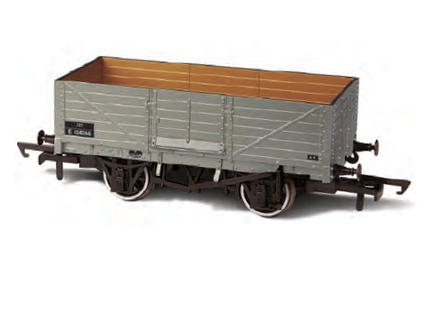 Oxford Rail OR76MW6002 6 Plank BR Plain Grey
