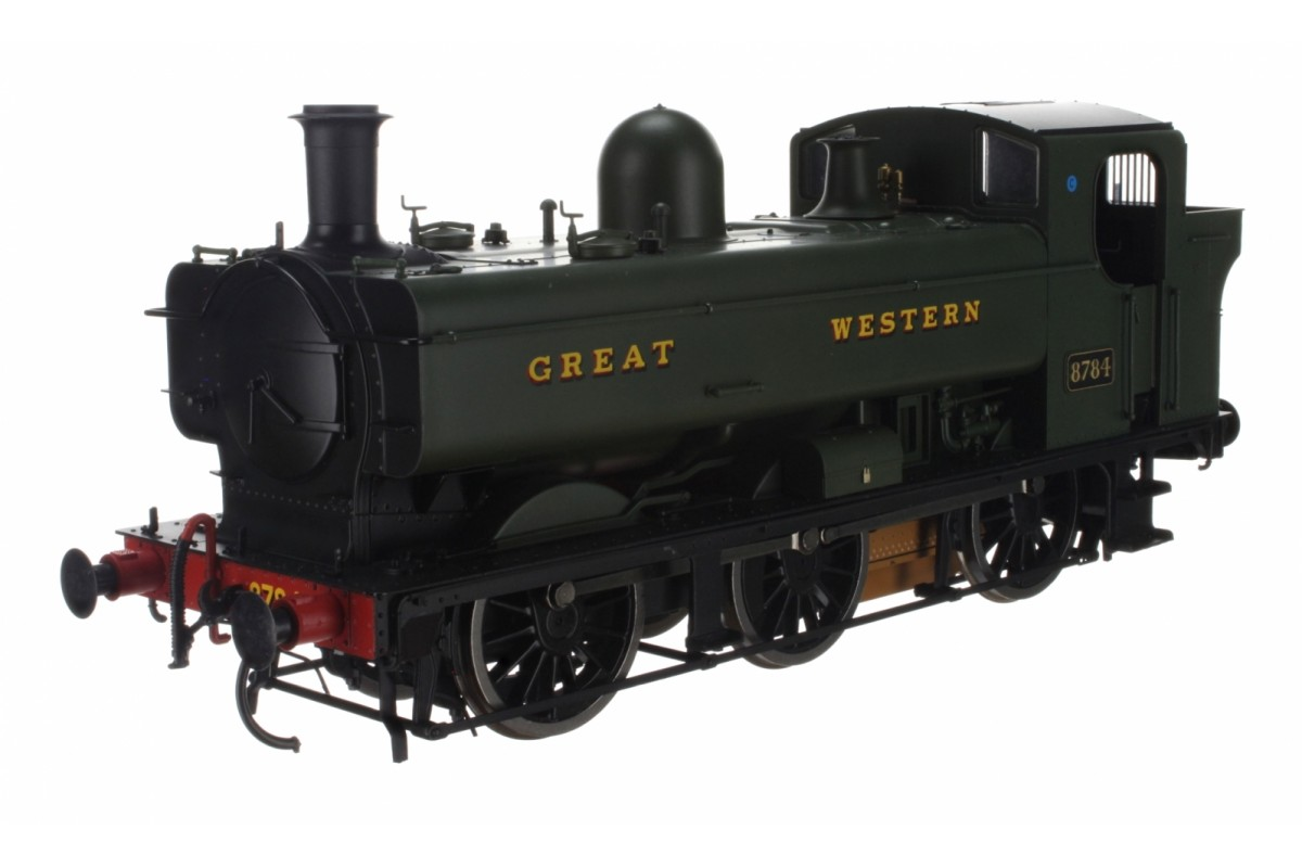 Dapol 7S-007-010 O Gauge Class 57XX Pannier 8784 Great Western Green
