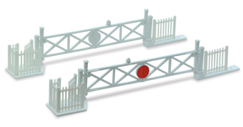 Peco LK-50 Level Crossing Gates (4) with Wicket Gates and Fencing