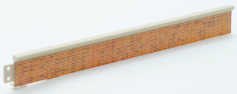 Peco LK-60 Platform Edging, brick type
