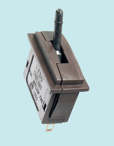 Peco PL-26B Passing Contact Switch, Black Lever
