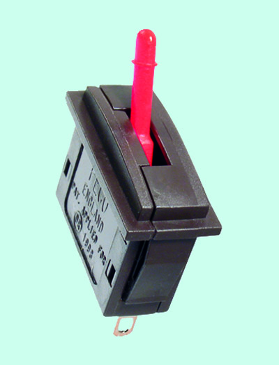 Peco PL-26R Passing Contact Switch, Red Lever