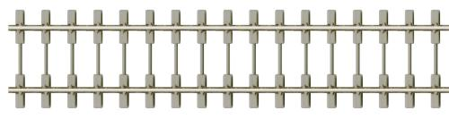 Peco SL-106F Bibloc Sleeper Type Code 75, Nickel Silver Rail - 914mm x1