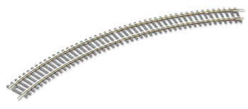 Peco ST-226 No.2 Radius Double Curve, 438mm