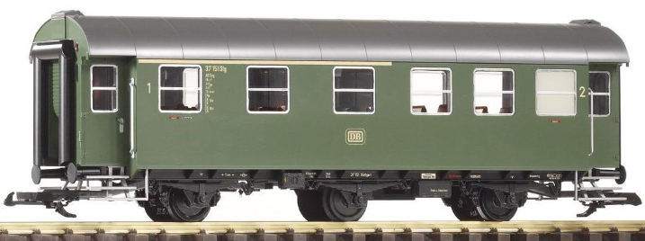Piko 37601 DB Rebuilt 1st/2nd Class 3 Axle Coach Green