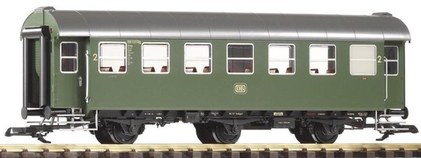 Piko 37600 DB Rebuilt 2nd Class 3 Axle Coach Green