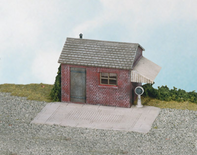 Wills SS16 Weighbridge & Hut