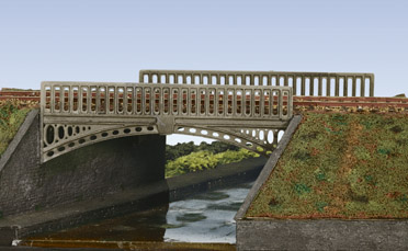 Wills SS26 Victorian Cast Iron Type Bridge