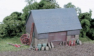 Wills SS30 Barn, Stone & timber Built Type