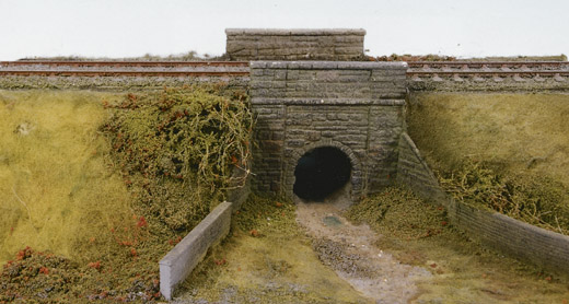 Wills SS38 Cattle Creep, Stone Type Arches & Abutments